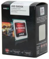AD580KWOHJBOX AMD A10 5800K Trinity Series - 4-core 3.6GHz Socket FM2 APU