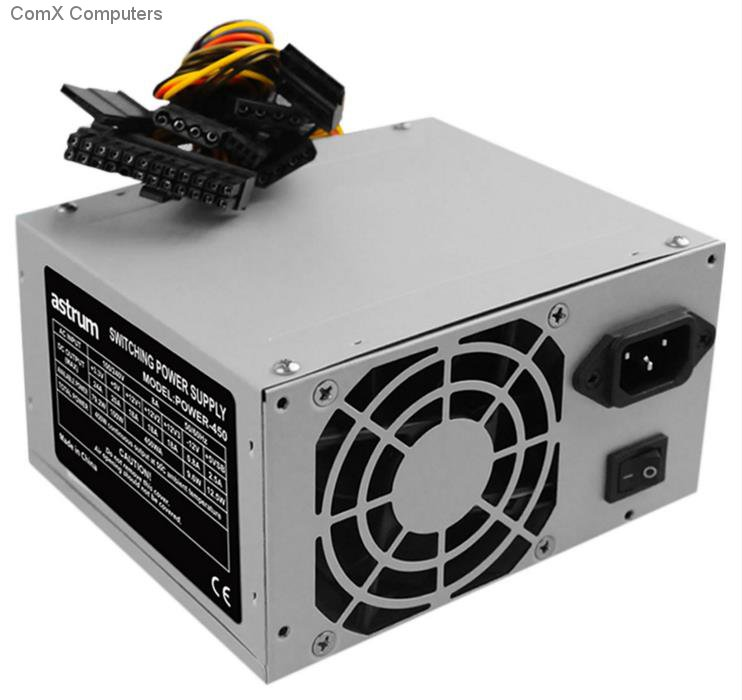 specification sheet a94050s astrum ps450 power supply