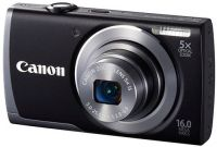 CANON POWERSHOT A3500IS Canon PowerShot A3500IS 16 MegaPixel Black Digital Camera