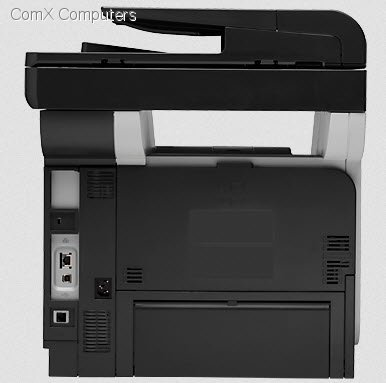 Specification sheet: A8P79A HP LaserJet Pro MFP M521dn 4 in 1 Printer with Fax