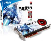MS-R6970-2PM2D2GD5 MSI R6970-2PM2D2G ATI 2GB DDR5 256Bit Graphics card