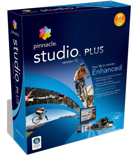 Pinnacle Studio 12 Plus.