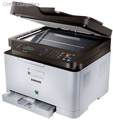 specification sheet sl c460fw xfa samsung sl c460fw colour multifunction laser printer with fax. Black Bedroom Furniture Sets. Home Design Ideas