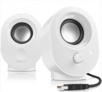 SL-8001-WE Speedlink Snappy White Speakers