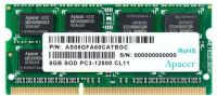 DS.08G2K.KAM Apacer 8GB DDR3L-1600 1.35V 204 pin SO-DIMM notebook Memory