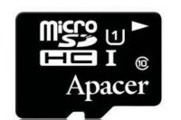 AP32GMCSH10U1-R Apacer 32GB Micro SD Card With Adapter - SD CARD WITH ADAPTER