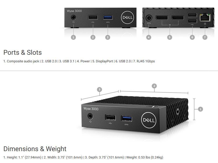 Specification sheet (buy online): DTDE210-ALEK Dell 210-ALEK Wyse