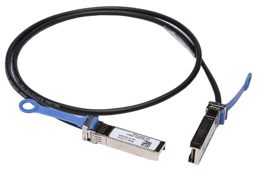 10GbE Copper Twinax Direct Attach Cable to SFP Dell 470-AAVH 1 m Networking SFP
