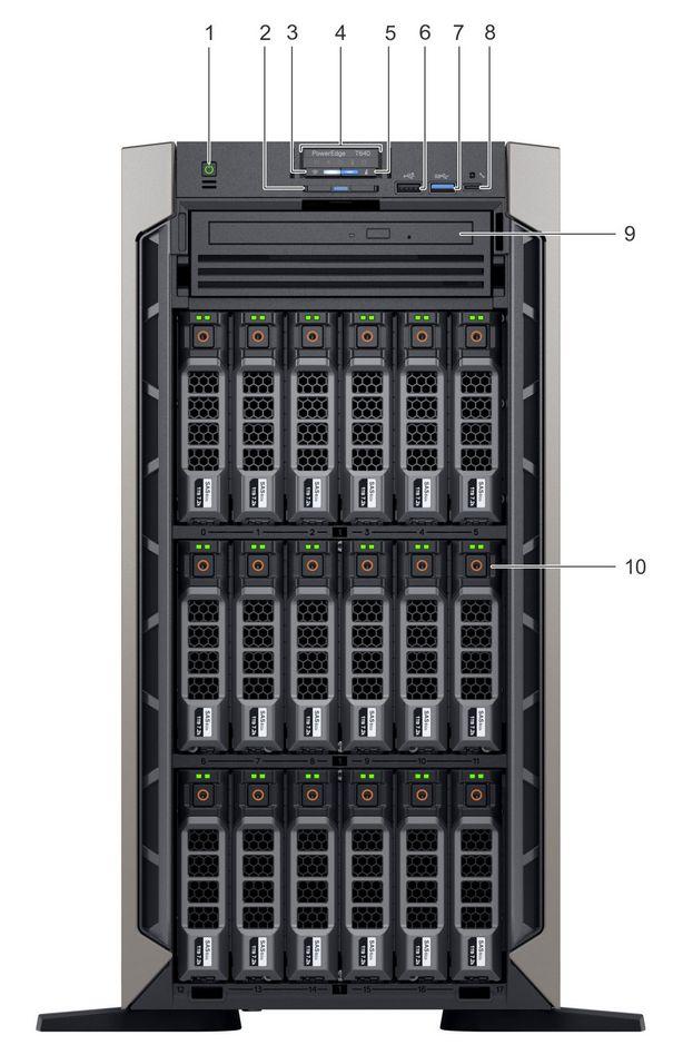 Specification sheet (buy online): T640-BASE-3 5 Dell