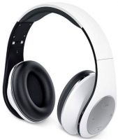 317-10199101 Genius HS-935BT White Wireless Bluetooth 4.1 Stereo Headset with Built-in Microphone