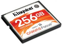 CF-256GKCF Kingston Canvas Focus 256GB Compact Flash