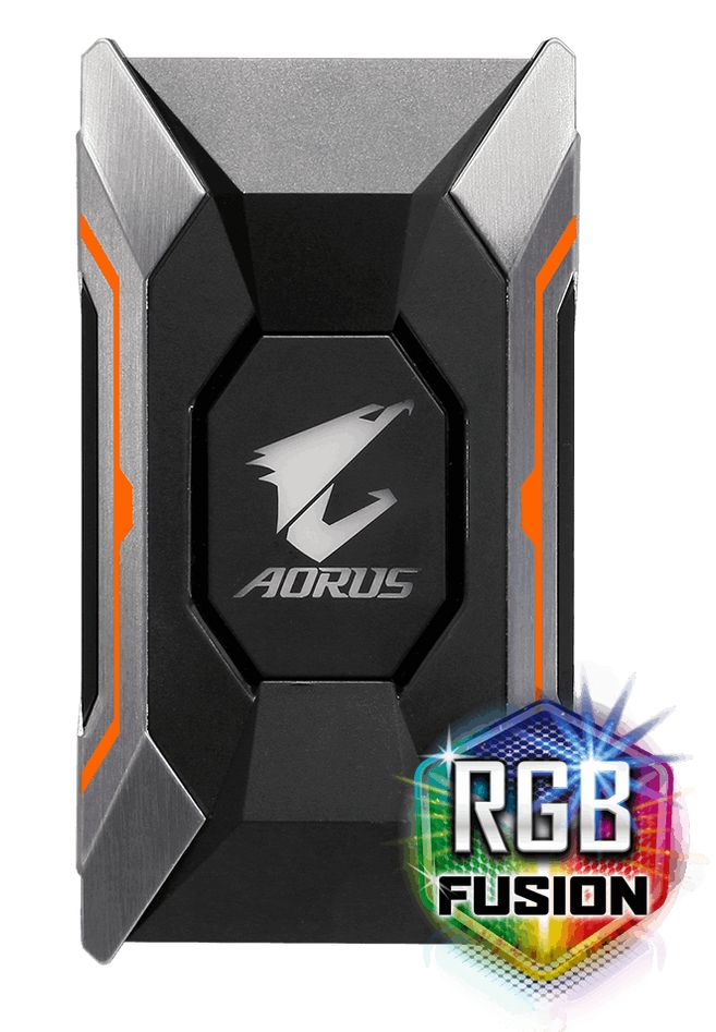 Specification Sheet Buy Online GC A2WAYSLIL AORUS RGB Fusion SLI HB Bridge