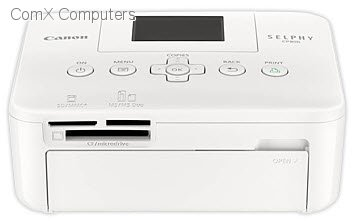 5958B002AA Gallery Image 2 Size 356 W X 222 H Canon SELPHY CP 810 White Photo Printer