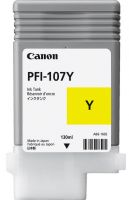 CT-C107Y Canon PFi-107Y Yellow 130ml ink (Order on request)