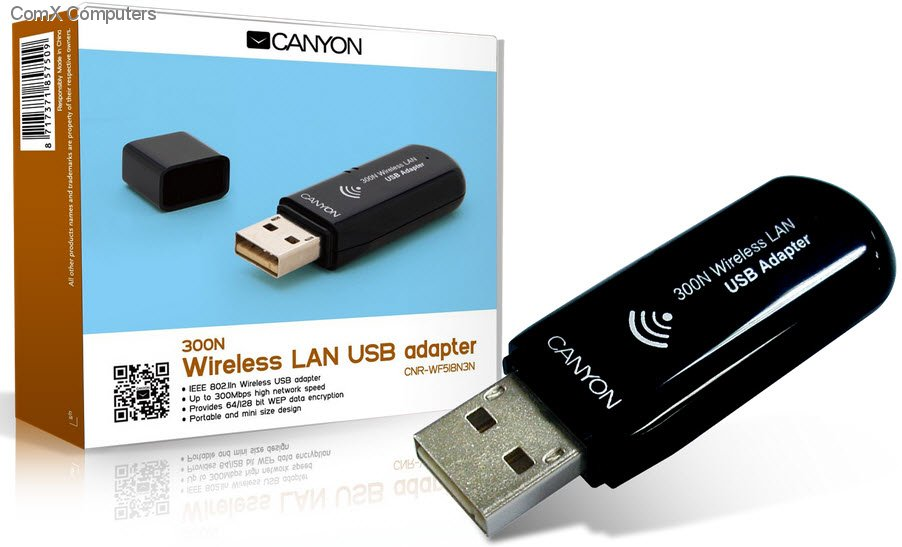 CANYON WIRELESS LAN USB ADAPTER 802.11G WINDOWS 7 X64 DRIVER DOWNLOAD
