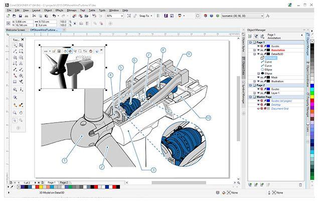 Specification sheet (buy online): LCCDTSSUB11 CorelDRAW Technical