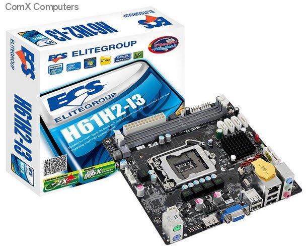 Specification sheet (buy online): H61H2-I3 Intel H61, 3rd Generation