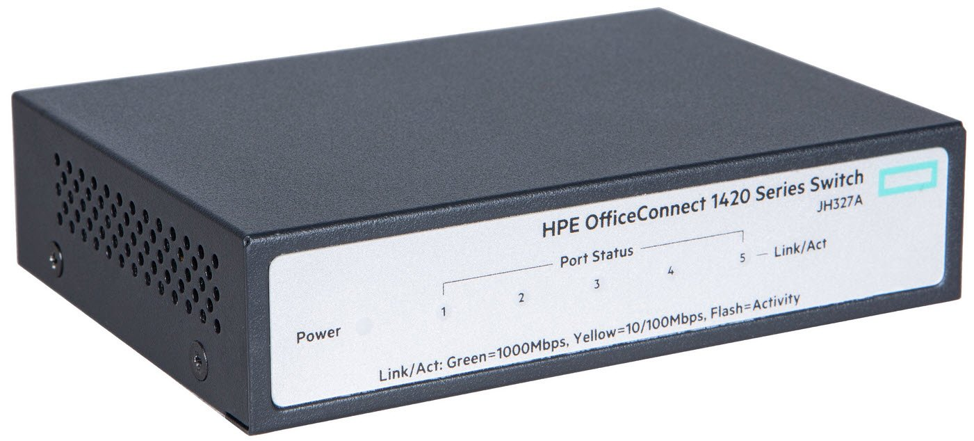 Specification sheet (buy online): JH327A HPE OfficeConnect 1420 5G ...