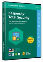 KL1919QXDFS8ENG KASPERSKY Total Security 2018 4 User 1 Year license DVD