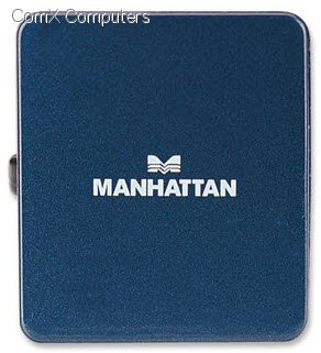 4 Ports 160605 4 Ports Bus Power NEW Manhattan Hi-Speed USB Micro Hub
