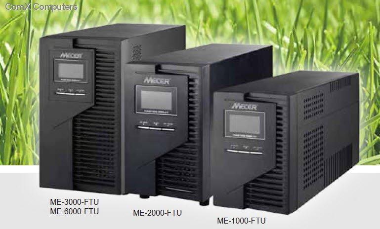 Specification sheet ME3000WTU Mecer 3000VA ONLINE UPS