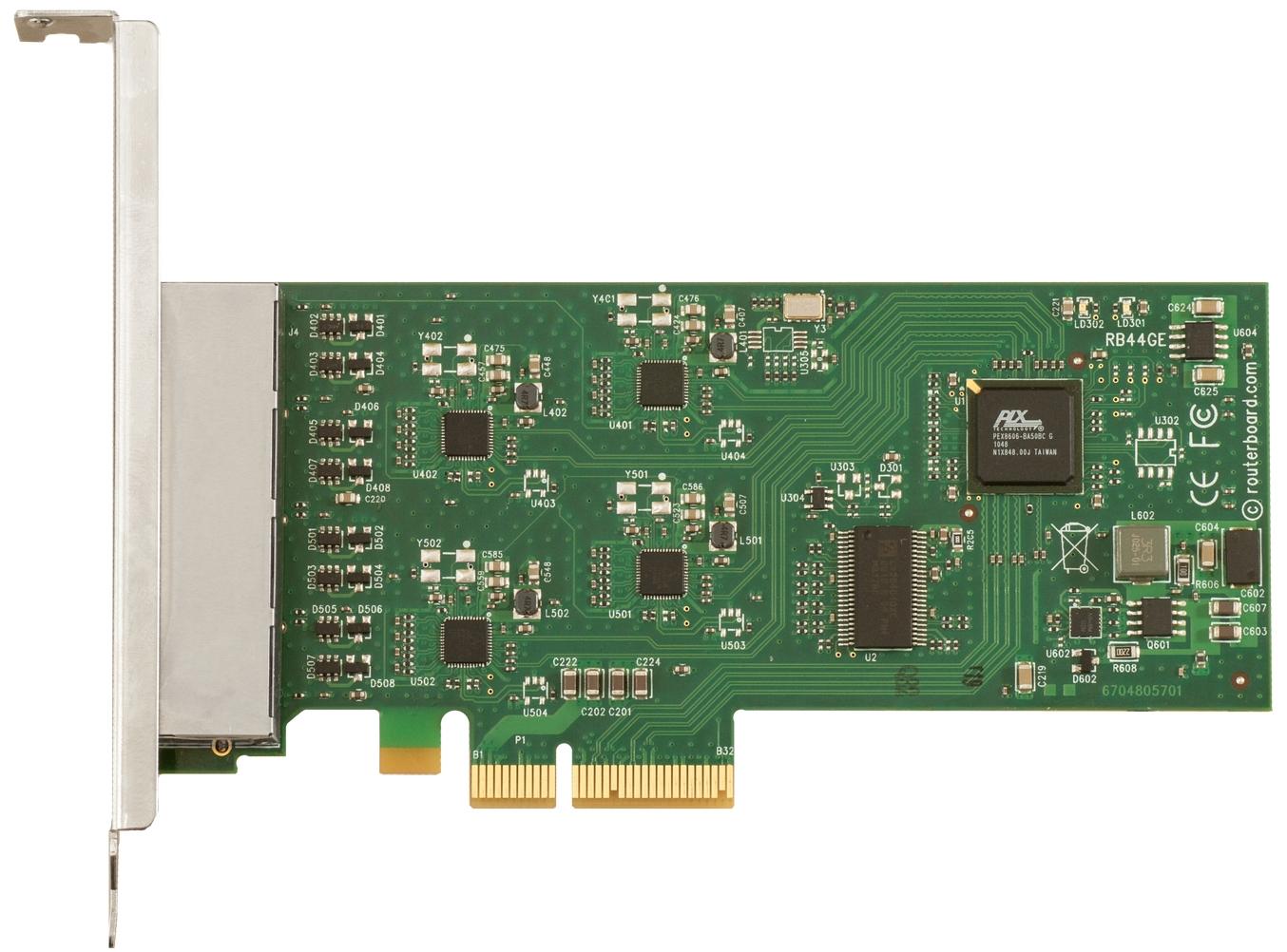 Specification Sheet Buy Online Rb44ge Mikrotik Routerboard 44ge Pci Lan Card Express Gigabit Tg 3468 Gallery Image 1 Size 1354 W X 1002 H