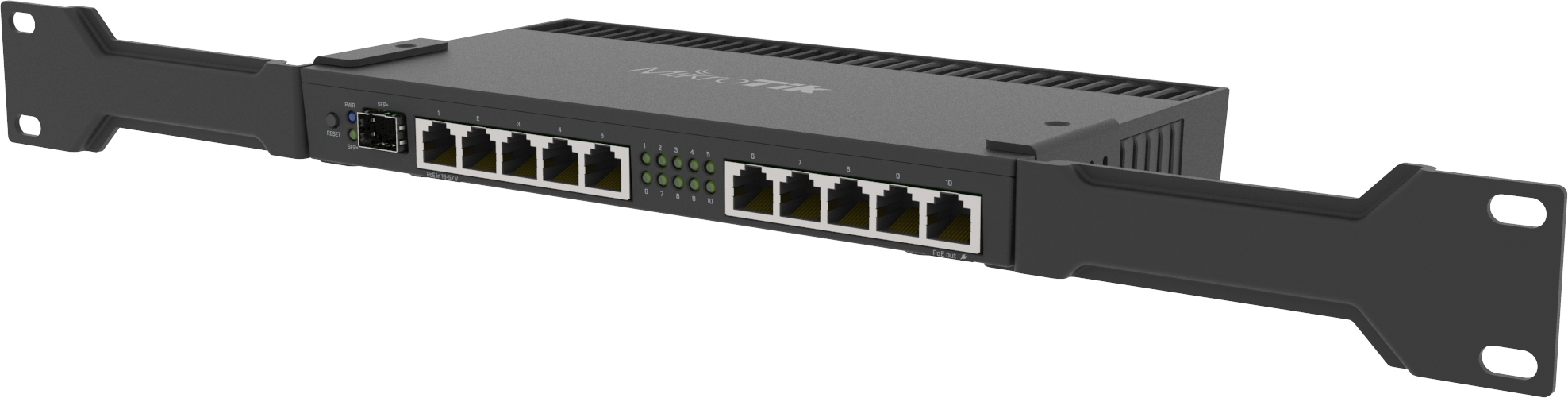 Specification sheet (buy online): MT-RB4011iGS-RM MikroTik Router