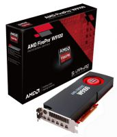 SC-SFW9100 SAPPHIRE AMD FirePro™ W9100 for professional 3D applications - 6x outputs with corssfire support