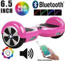 "TOQ3PINK-BLACK Sceedo Pink and Black 6.5"" Bluetooth Electric Two wheeler Self-Balancing Board"