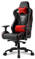 4044951021727 Sharkoon Skiller SGS4 Black & Red Gaming Seat