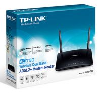 NET-ARCHER-D20 TP-Link ARCHER D20 AC750 Wireless Dual Band