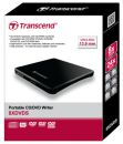 Transcend se-s218 External 8x Slim Black DVD Writer