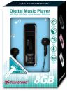 Transcend MP330 black 8Gb MP3 Player & FM Radio