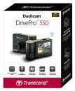 TS-DP550A-64G Transcend Drivepro 550 Dual Lens Dash Cam With 64Gb MicroSD Card