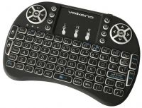 VK20038BK Volkano Control series Smart TV remote Control keyboard and trackpad