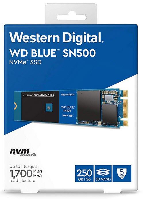 Specification sheet (buy online): WDS250G1B0C Western Digital Blue